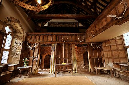 Inside Haddon Hall