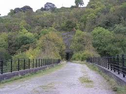 Monsal Dale old railway bridge